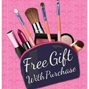 Free gift with any purchase:)
